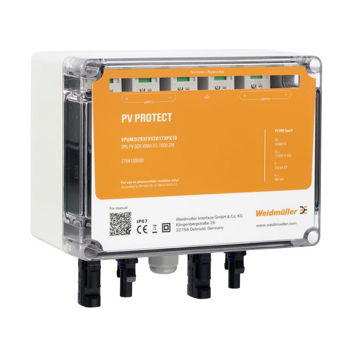 Surge voltage arrester  (Photovoltaic systems) VPUM2I2SXFXV1O1TXPX10