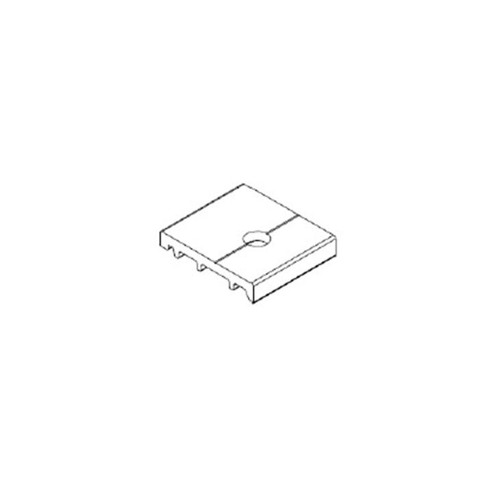 Alumil A160 Horizontal Profile H2216 L=4.20m