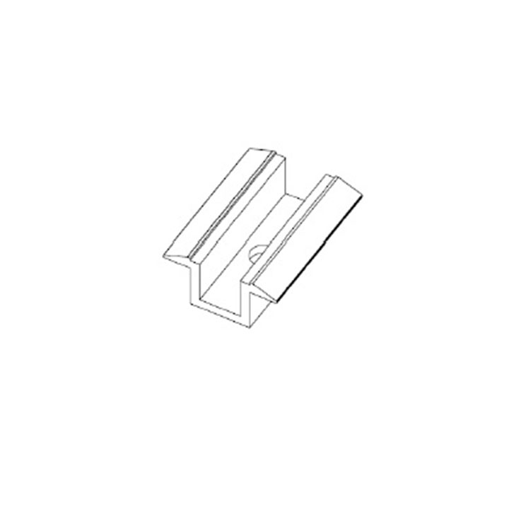 Alumil A160 Middle Clamp for 33mm Thick Modules