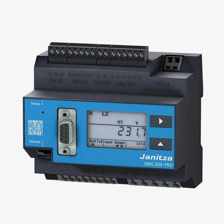 Janitza Power Analyser UMG 604-PRO