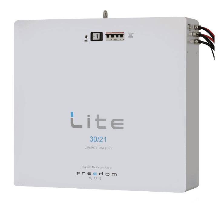 FreedomWon Home Lite 30/24kWh 52v LiFePO4 Battery